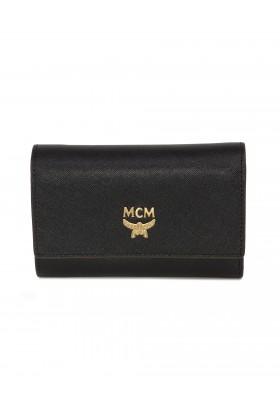 MCM Portemonnaie schwarz