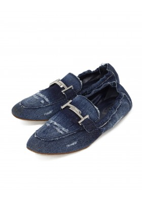 TOD`S Loafer Denim Gr. 38.5