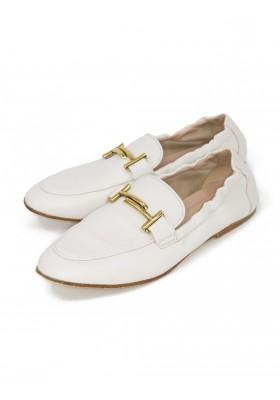 TOD`S Loafer ivory Gr. 38.5