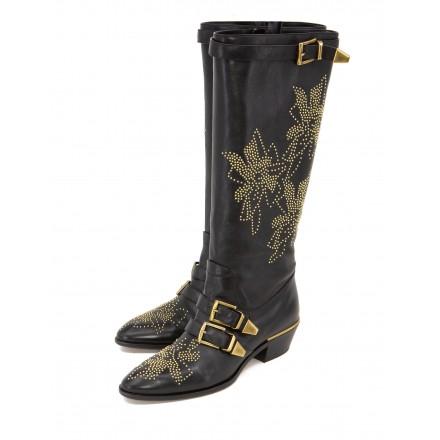 CHLOÉ Susanna rare knee-high boots
