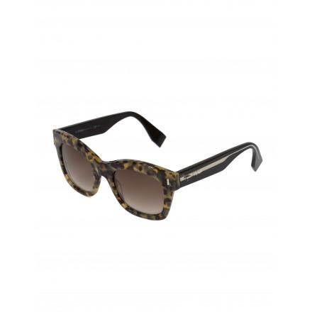 FENDI Damen Sonnenbrille FF025/S braune Hornoptik. Sehr guter Zustand.