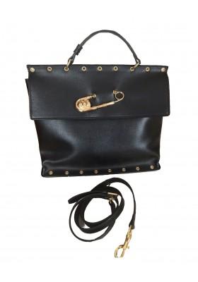 VERSACE Leder Handtasche
