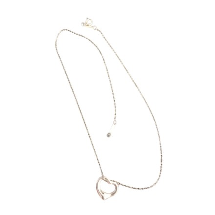 TIFFANY & Co. Herz-Halskette 925 Silber. Sehr guter Zustand