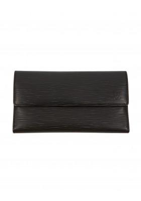 LOUIS VUITTON grosses Portemonnaie Epi Leder schwarz. Sehr guter Zustand