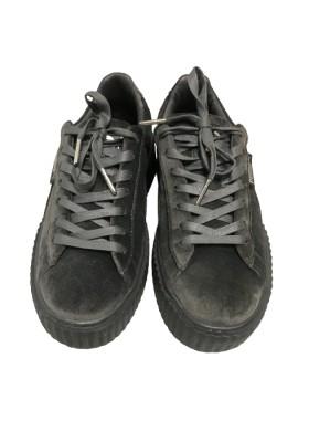 Puma x Fenty Creeper Velvet Grey Sneakers