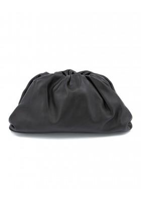 BOTTEGA VENETA The Pouch oversize clutch bag large schwarz. Sehr guter Zustand