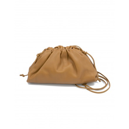 BOTTEGA VENETA The Mini Pouch crossbody bag camello. Sehr guter Zustand
