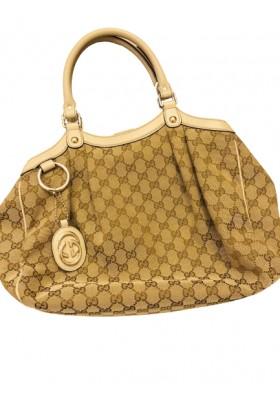 GUCCI GG Monogram Handtasche braun. Sehr guter Zustand.