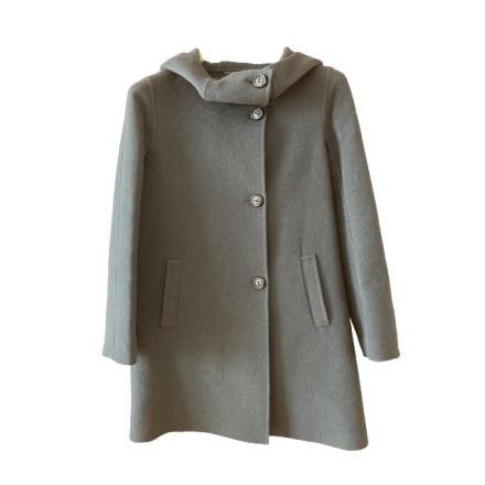MAX MARA Wolle-Cashmere-Mantel schwarz Gr. 38. Sehr guter Zustand