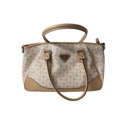 MAISON MOLLERUS Handtasche beige. Sehr guter Zustand