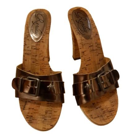 REPLAY Sandaletten braun Gr. 38. Guter Zustand.