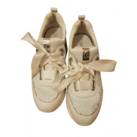 LIU JO Sneaker Weiss Gr. 38. Guter Zustand.