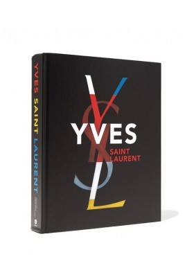 YVES SAINT LAURENT Abrams Coffee Table Book