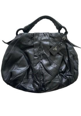PRADA Handtasche Leder schwarz. Sehr guter Zustand