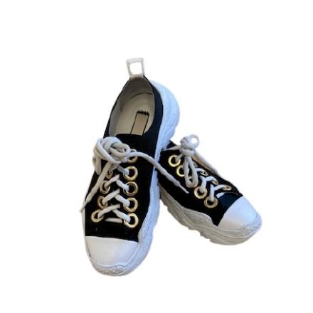 No21 Sneaker Gr. 38.5. Schwarz weiss. Sehr guter Zustand.
