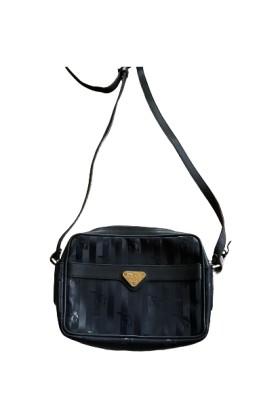 MOLLERUS Crossbody Bag Vinerus Coated Canvas schwarz. Sehr guter Zustand