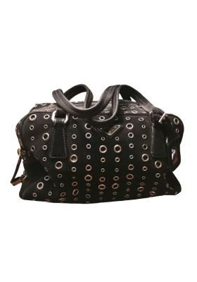PRADA Tote Bag Wildleder schwarz. Sehr guter Zustand
