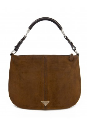 PRADA Vintage Wildleder Hobo Bag