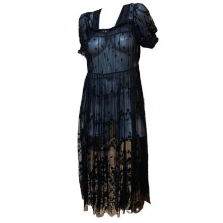 NEEDLE & THREAT Spitzen Kleid Gr. 36. Schwarz. Neu mit Etikett.