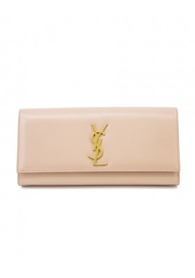 SAINT LAURENT YSL Kate Clutch rosa nude. Sehr guter Zustand