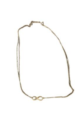 TIFFANY & CO. Infinity Halskette 18 Karat Gelbgold. Neu - Full Set