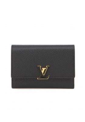 LOUIS VUITTON Capucine Compact Portemonnaie. Zustand NEU.