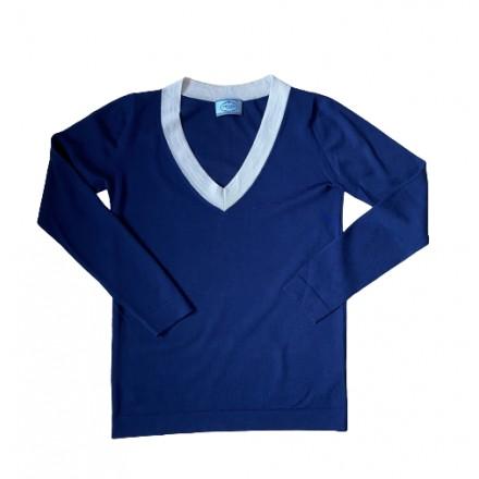 PRADA Pullover blau. Gr. 36. Sehr Guter Zustand.