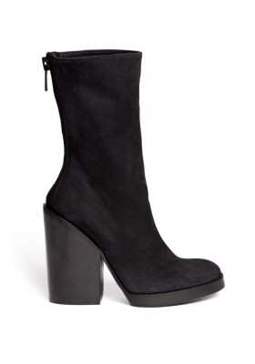 Haider Ackermann Wildleder Boot