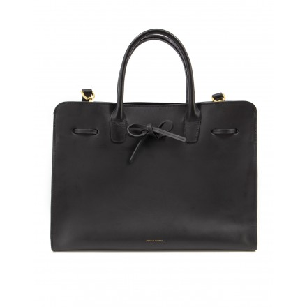 MANSUR GAVRIEL Sun Bag gross Leder schwarz. Guter Zustand