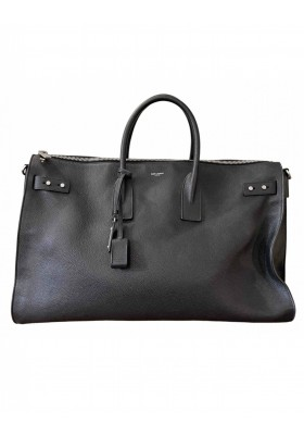 SAINT LAURENT Sac de Jour 48 h Handtasche Reisetasche Leder schwarz. Sehr guter Zustand