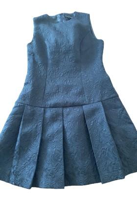 VICTORIA BY VICTORIA BECKHAM Kleid Brokatstyle schwarz Gr. L. Sehr guter Zustand