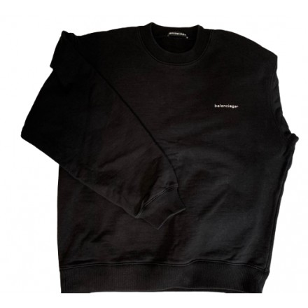 BALENCIAGA Sweater Oversize schwarz. Gr. M. Sehr guter Zustand.