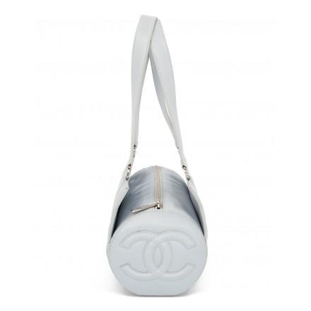 CHANEL Vintage CC Barrel Bag