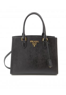 PRADA Handtasche Saffiano Leder schwarz. Sehr guter Zustand.