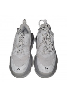 Balenciaga Triple S Sneakers with clear soles