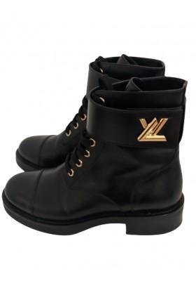 LOUIS VUITTON Boots Wonderland Rangers. Gr. 36. Sehr guter Zustand.