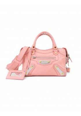 BALENCIAGA City Bag Mini Leder rosa. Sehr guter Zustand.