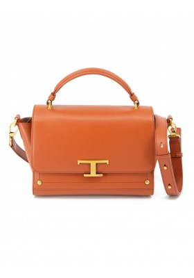 TOD`S Timeless Bag klein Leder rostbraun. Sehr guter Zustand