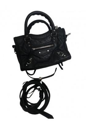 BALENCIAGA City Bag Nano Leder schwarz. Sehr guter Zustand