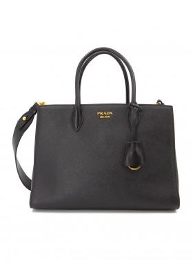 PRADA Grosse Tote Bag Saffiano Leder schwarz. Sehr guter Zustand.