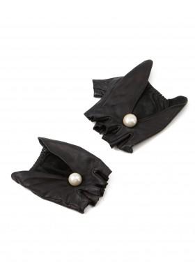 CC Halbfinger Handschuhe mit Glasperle