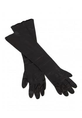 DSQUARED2 Handschuhe lang Leder schwarz Gr. L. Sehr guter Zustand