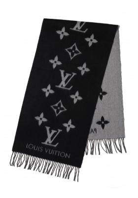 Louis Vuitton Schal Cashmere hell-dunkelgrau