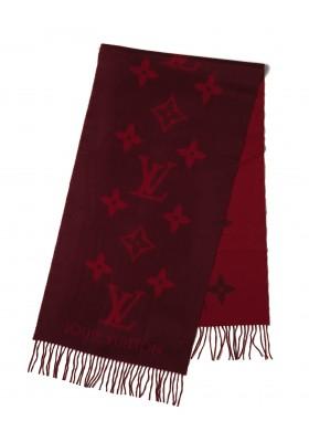 Louis Vuitton Schal Cashmere weinrot / rot