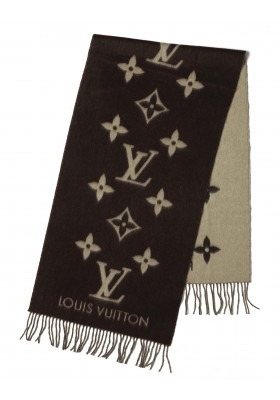 Louis Vuitton Cashmere Schal braun