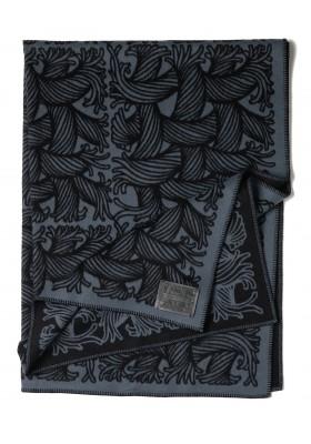 Louis Vuitton Plaid Wolldecke Blau Schwarz