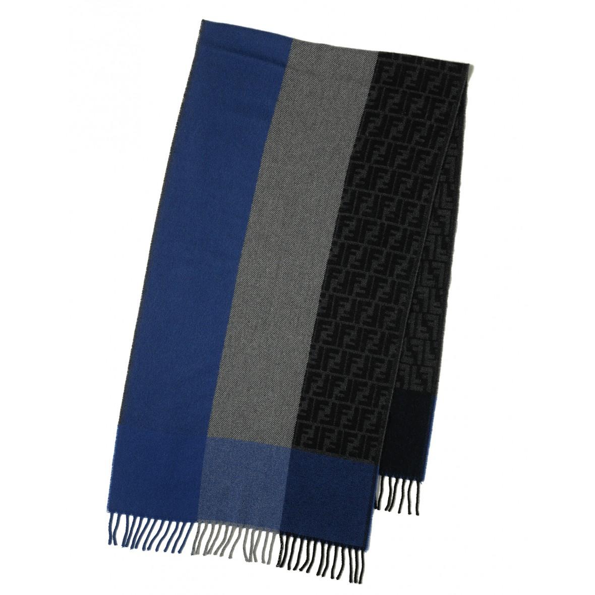 2019 authentisch zuverlässiger Ruf bester Platz Schal blau-grau