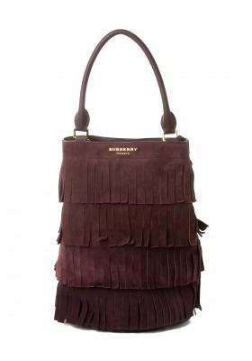Burberry Prorsum Wildleder Handtasche