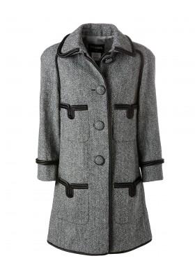 Chanel Mantel Grau