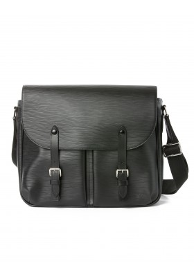 Landolt LV CHRISTOPHER Messenger Bag schwarz